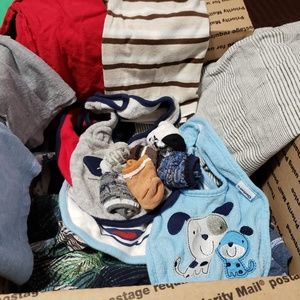 Baby Boy mystery box, 9m-12m, free gift included